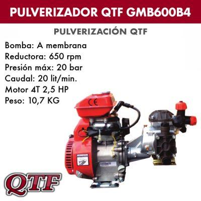 Grupo pulverización QTF GMB 600B4