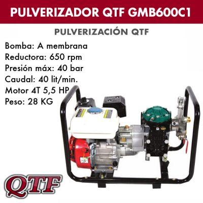 Grupo pulverización QTF GMB600C1