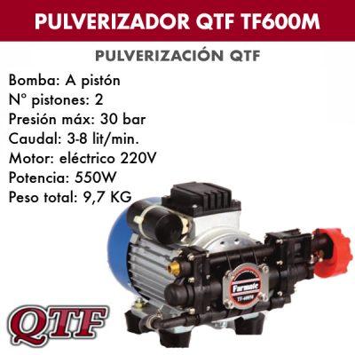 Grupo pulverización QTF TF600M