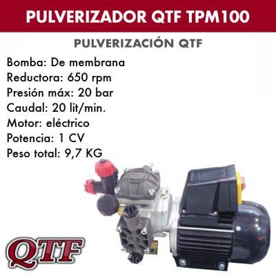 Grupo pulverización QTF TPM100