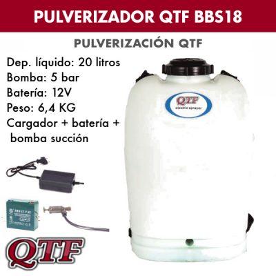 Pulverizador QTF BBS18