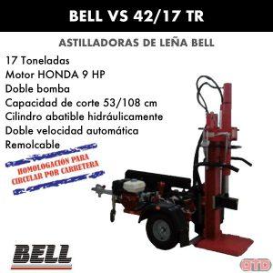 Astilladora leña bell VS 42:17 TR