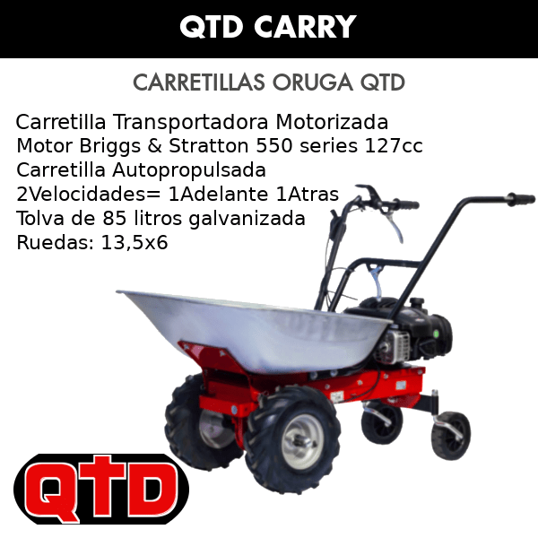 Carretilla Transportadora QTD Carry