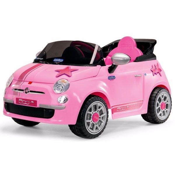 Fiat 500 Star Pink a batería 6V Peg Pérego