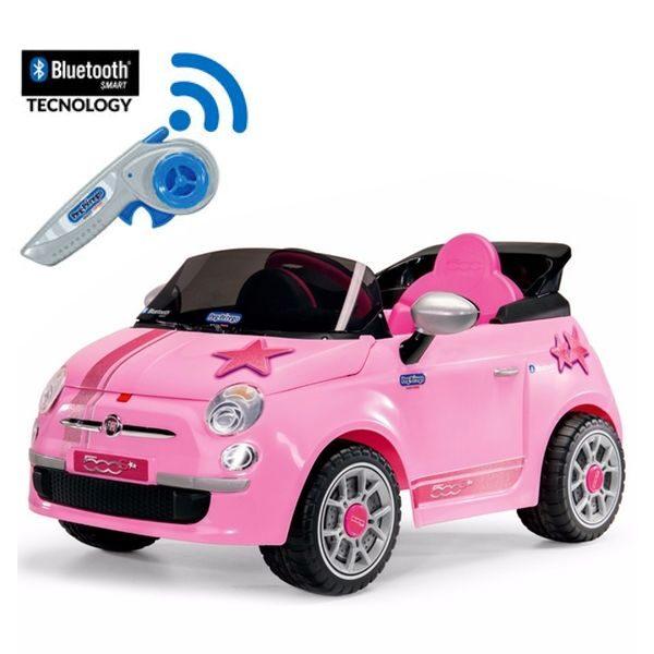 Fiat 500 Star Remote Control Pink Peg Pérego