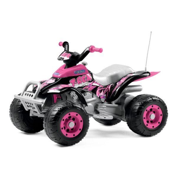 Quad Corral T-REX Pink 12V Peg Pérego