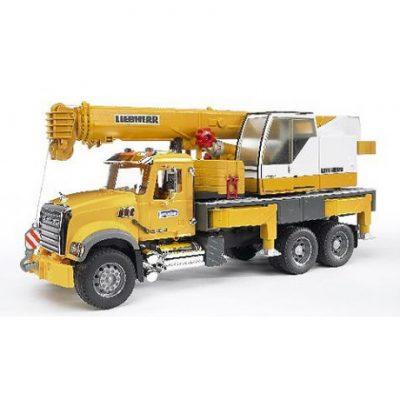 Camión con grua Liebherr de juguete 1:16
