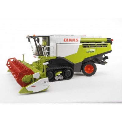 Cosechadora Claas Lexion 780 oruga de juguete 1:16