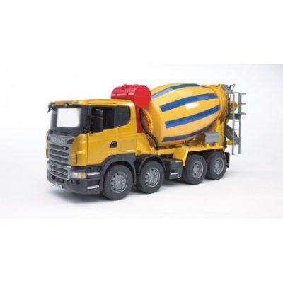 Hormigonera Scania R de juguete escala 1:16