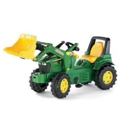 Tractor con pala a pedales de juguete John Deere 7930 RollyToys