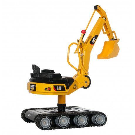 Excavadora de juguete RollyDigger Cat con accionamiento manual