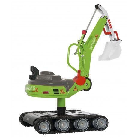 Excavadora de juguete RollyDigger XL con accionamiento manual