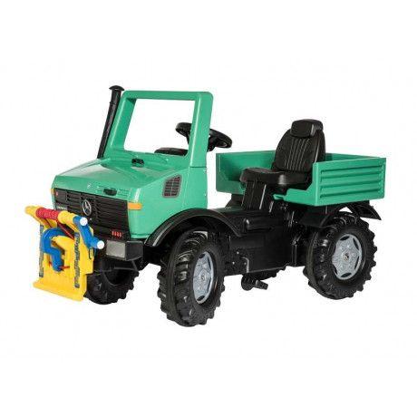 Mini Tractor Cablestante A Pedales De Juguete Rollyunimog Con
