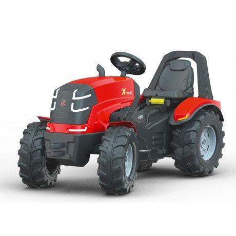 Tractor a pedales de juguete RollyX-Trac Premium