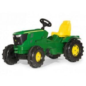 Tractor a pedales de juguete John Deere 6210R
