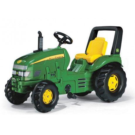Tractor a pedales de juguete John Deere X Trac