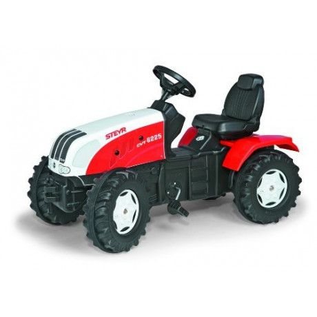 Tractor a pedales de juguete Steyr RollyToys
