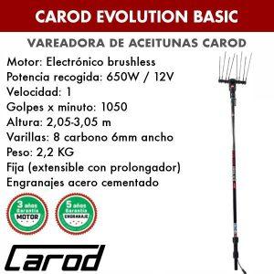 La Vareadora de aceitunas Carod Evolution BASIC