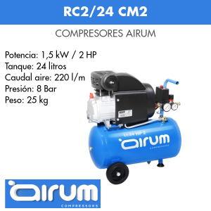 Compresor de aire Airum RC2-24
