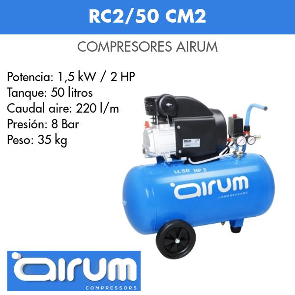 Compresor de aire Airum RC2-50 cm2