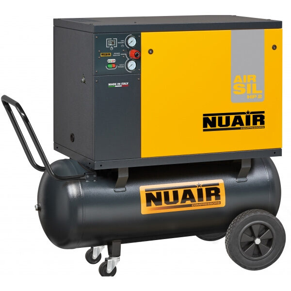 Compresor de aire NUAIR Airsil 1 B2800B/3FT/100