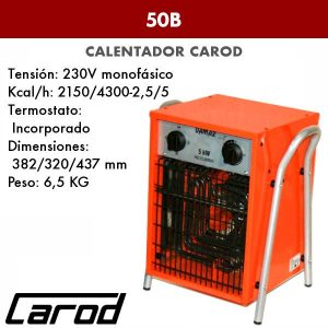 Calefactor Carod 50B