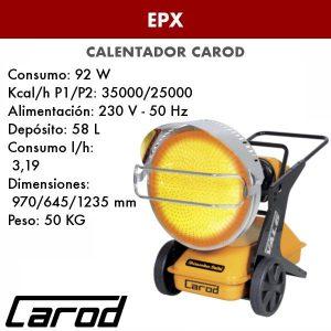 Calentador Carod EPX