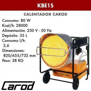 Calentador Carod KBE1S