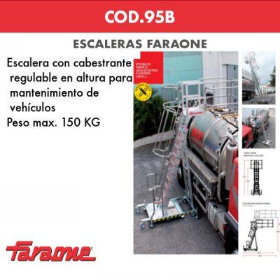 Escaleras de aluminio Faraone COD-95B
