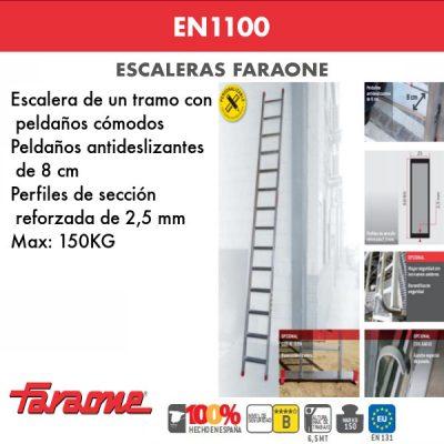 Escaleras de aluminio Faraone EN1100