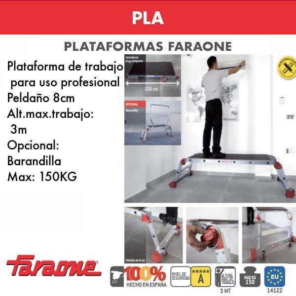 Escaleras de aluminio Faraone PLA