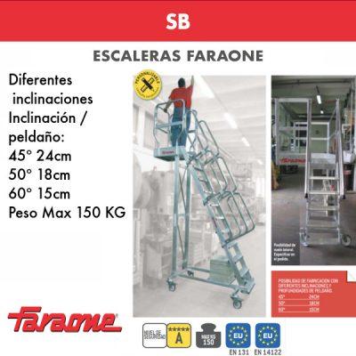 Escaleras de aluminio Faraone SB