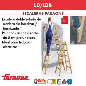 Escaleras de madera Faraone LD/LDB