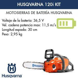 Motosierra Husqvarna 120i