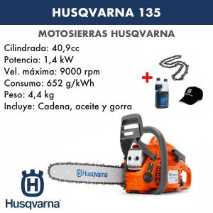 Motosierra Husqvarna 135