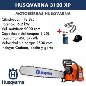 Motosierra Husqvarna 3120 XP