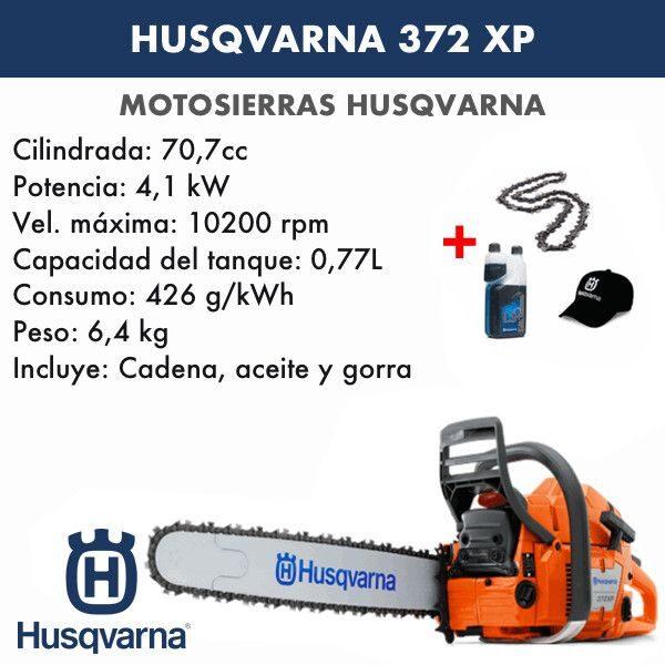 Motosierra Husqvarna 372 XP