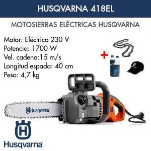 Motosierra Husqvarna 418EL