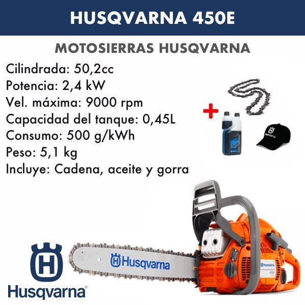 Motosierra Husqvarna 450E