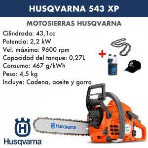 Motosierra Husqvarna 543 XP