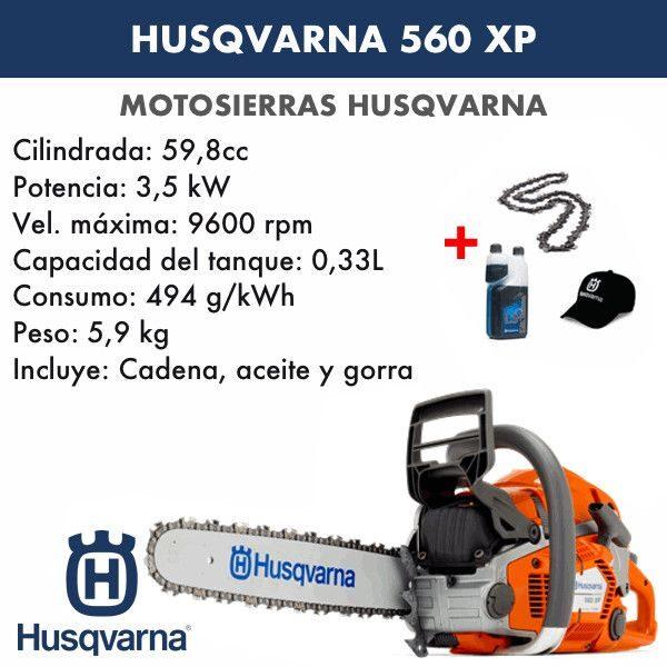Motosierra Husqvarna 560 XP