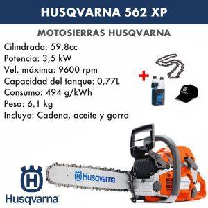 Motosierra Husqvarna 562 XP
