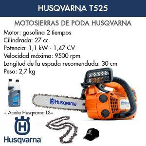 Motosierra de poda Husqvarna T525