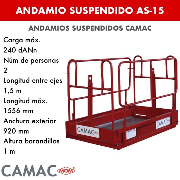 ANDAMIO SUSPENDIDO AS-15
