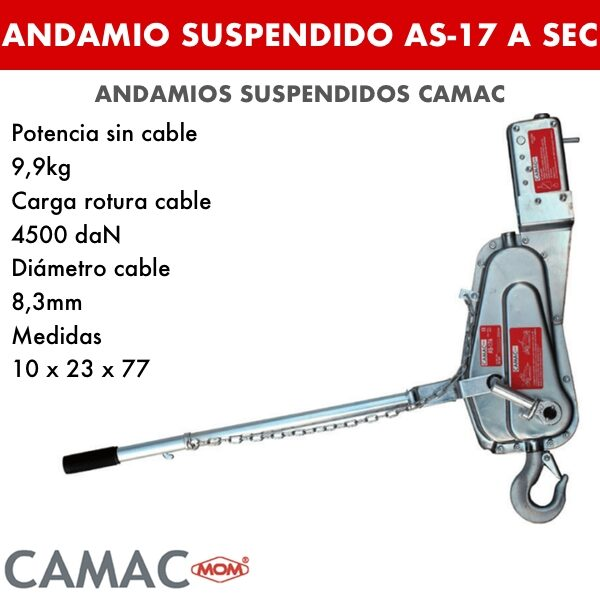 Andamios Suspendidos AS-17 A SECURIT