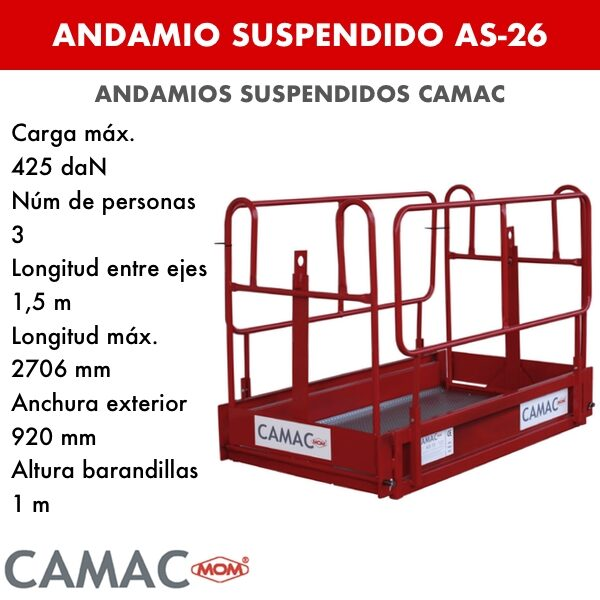 Andamios Suspendidos AS-26