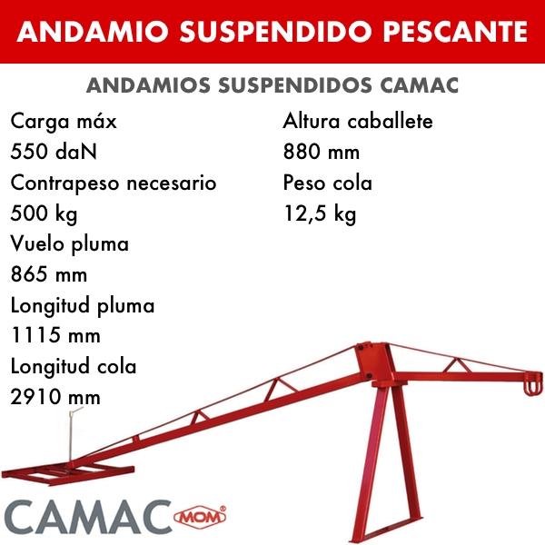 Andamio Modular 1 Pescante Andamio Suspendido Suspendido 3Rjq4LAc5