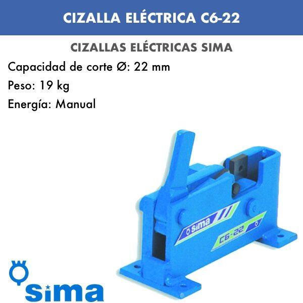 Cizalla Eléctrica de Sima C6-22