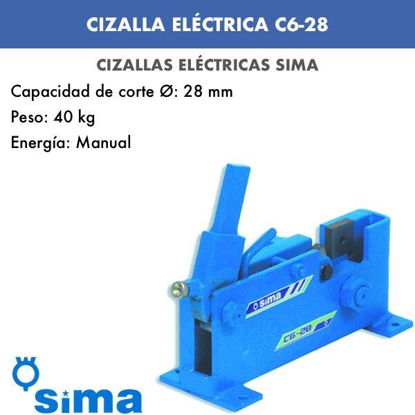 Cizalla Eléctrica de Sima C6-28