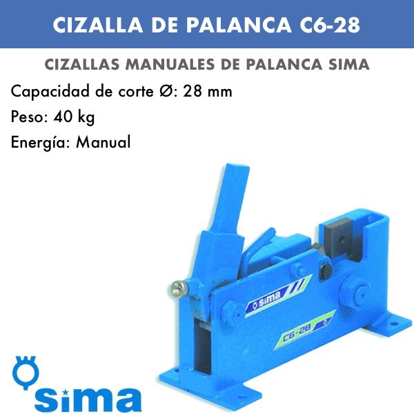 Cizalla manual de palanca Sima C6-22